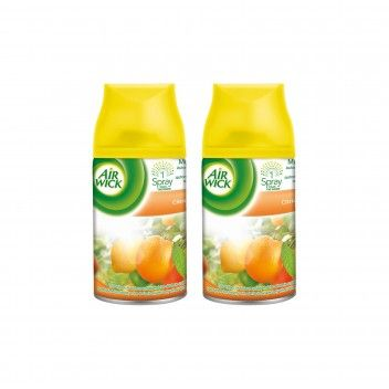 Air Wick Recarga Ambientador Freshmatic Citrus 250 ml - Pack 2 x 250 ml