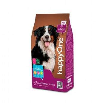 HappyOne Alimento Completo Para Cães - Adulto Mix 18 kg