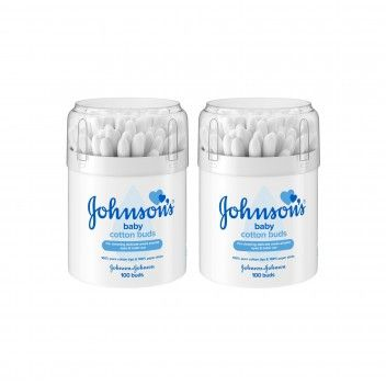 Johnson's Baby Cotonetes 100 un - Pack 2 x 100 un