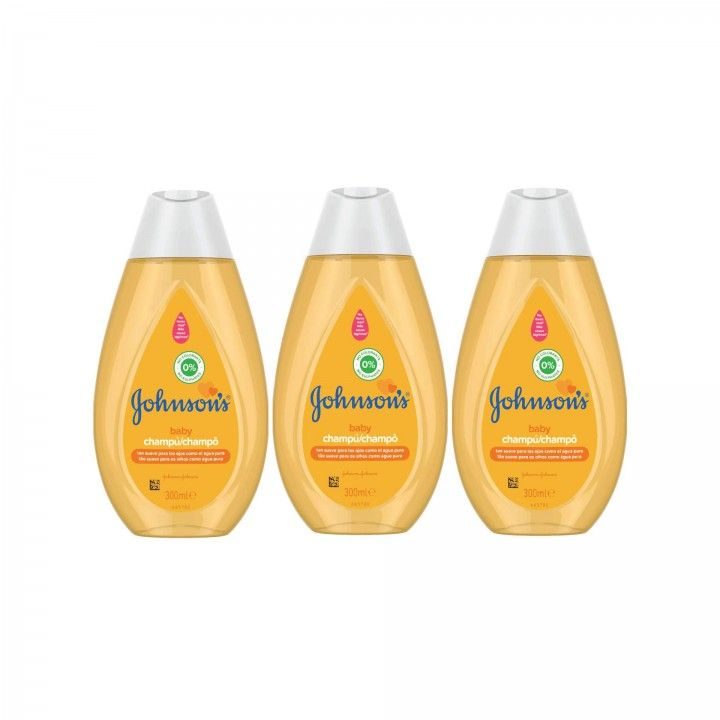 Johnson's Champô 300 ml - Pack 3 x 300 ml