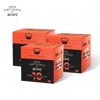 Junta Portuguesa Do Café Royal Caps Compatível Dolce Gusto 10 INT - Pack 3 x 16 un