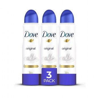 Dove Aero Original 150 ml - Pack 3 x 150 ml