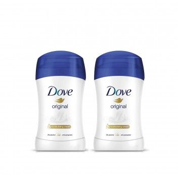 Dove Desodorizante Stick Original 40 ml - Pack 2 x 40 ml