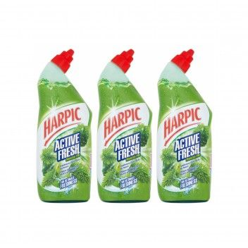 Harpic Active Gel Pinho 750 ml - Pack 3 x 750 ml