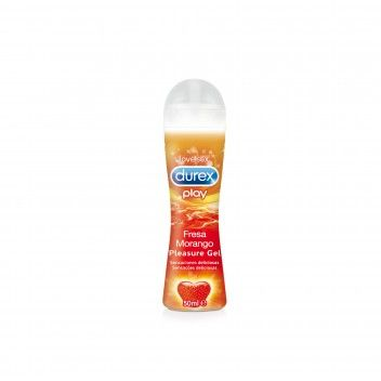Durex Play Gel Lubrificante Morango 50 ml