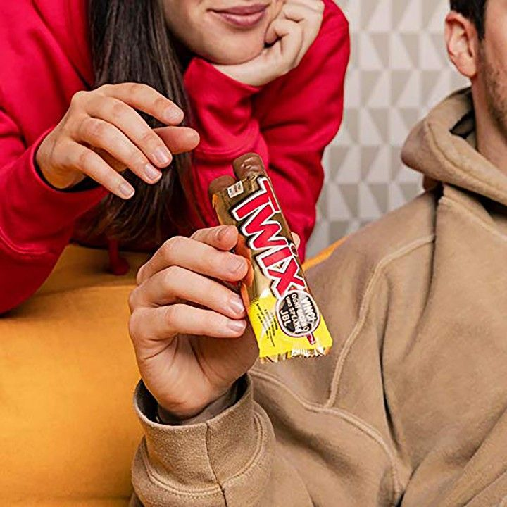 Twix Chocolate 50 gr - Pack 25 x 50 gr