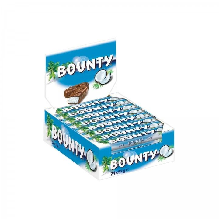 Bounty Chocolate 57 gr - Pack 24 x 57 gr