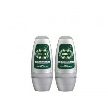 Brut Roll-On Original 50 ml - Pack 2 x 50 ml