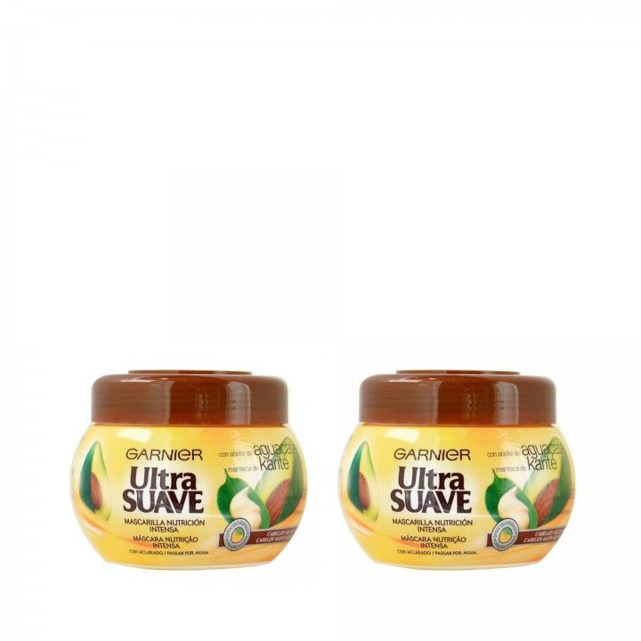 Ultra Suave Máscara Abacate 300 ml - Pack 2 x 300 ml