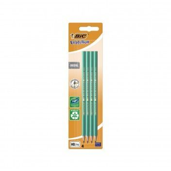 Bic Lapis Grafite Evolution Blister 4 un