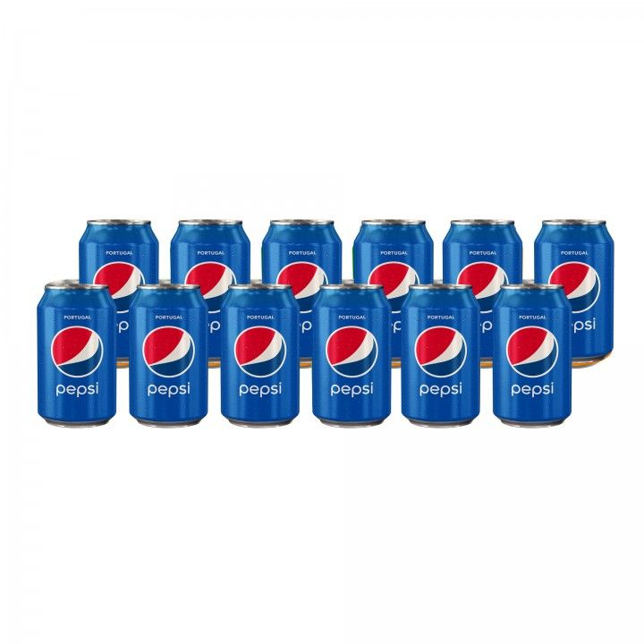 Pepsi Lata 33 cl - Pack 12 x 33 cl