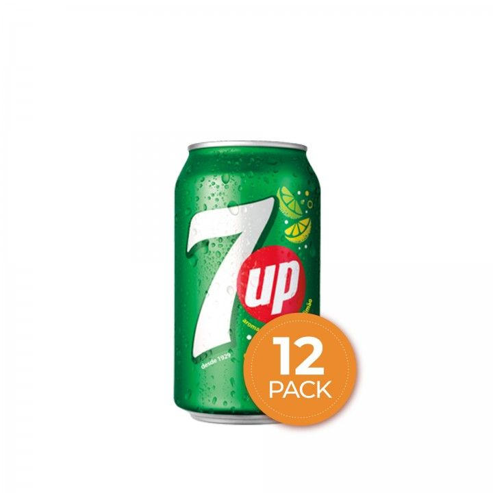 7UP Lata 33 cl - Pack 12 x 33 cl