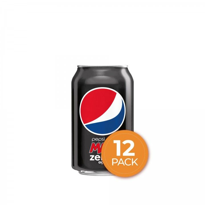 Pepsi Max Lata 33 cl - Pack 12 x 33 cl