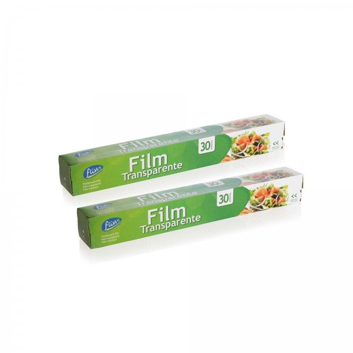 Fliss Pelicula Aderente Rolo 30 m - Pack 2 x 30 m