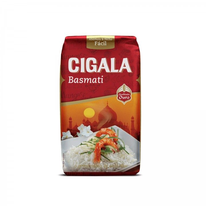 Cigala Arroz Basmati 1 kg - Pack 2 x 1 Kg