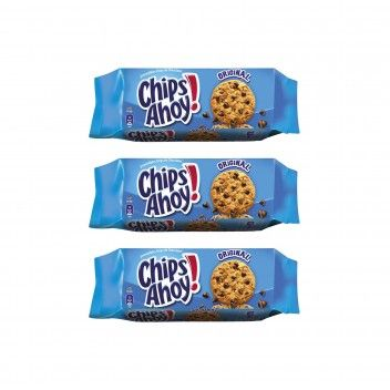Chips Ahoy 128 gr - Pack 3 x 128 gr
