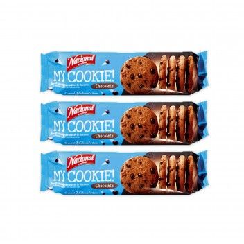 Nacional My Cookie Chocolate 150 gr - Pack 3 x 150 gr