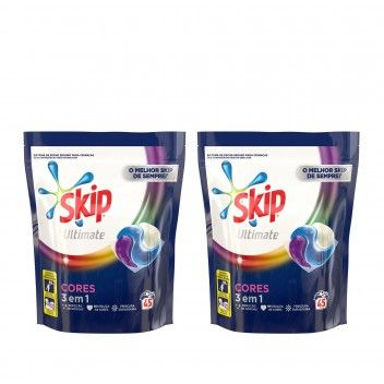 Skip Trio Caps Ultimate Colour - 45 Cápsulas - Pack 2 x 45 cáp.