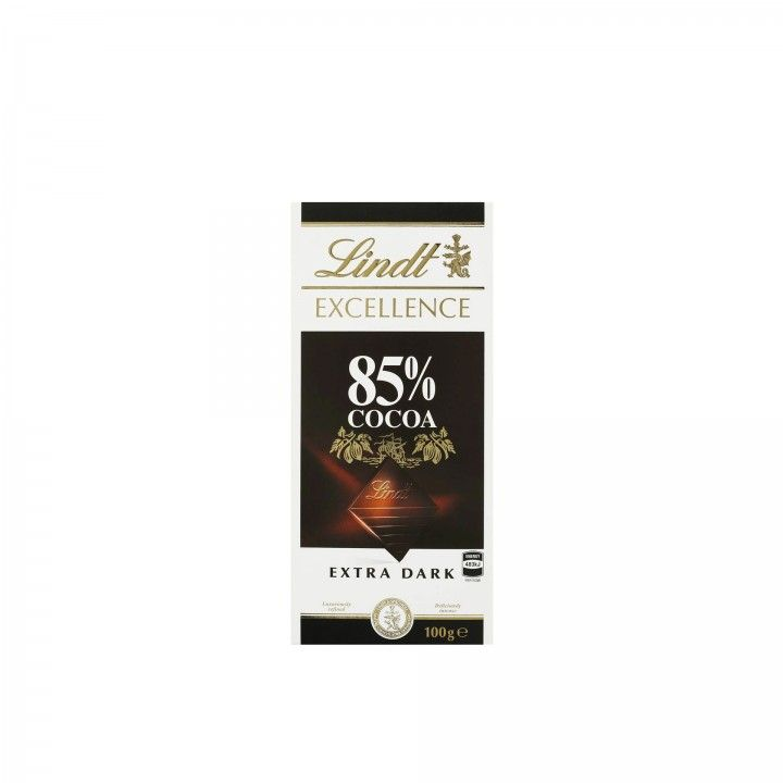 Lindt Excellence Chocolate Negro 85% Cacau 100 gr - Pack 2 x 100 gr