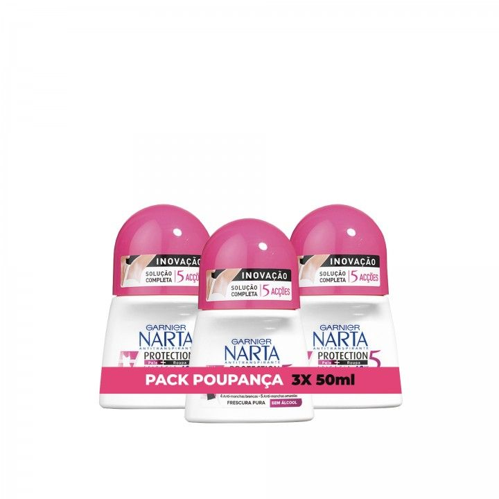 Narta Roll-On Protection 5 50 ml - Pack 3 x 50 ml