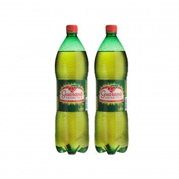 Antartica Guaraná Pet 1,5 L - Pack 2 x 1,5 L