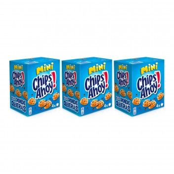 Chips Ahoy Mini 160 gr - Pack 3 x 160 gr