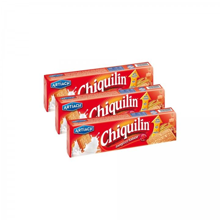 Chiquilin Bolachas 175 gr - Pack 3 x 175 gr