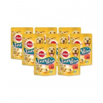 Pedigree Tasty Bites Vaca 155 gr - Pack 8 x 155 gr