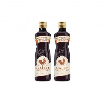 Gallo Vinagre Balsâmico Sidra 250 ml - Pack 2 x 250 ml