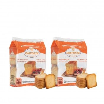 Diatosta Tosta Normal 225 gr - Pack 2 x 225 gr