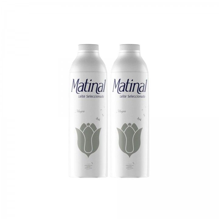 Matinal Leite Magro 1 L - Pack 2 x 1 L