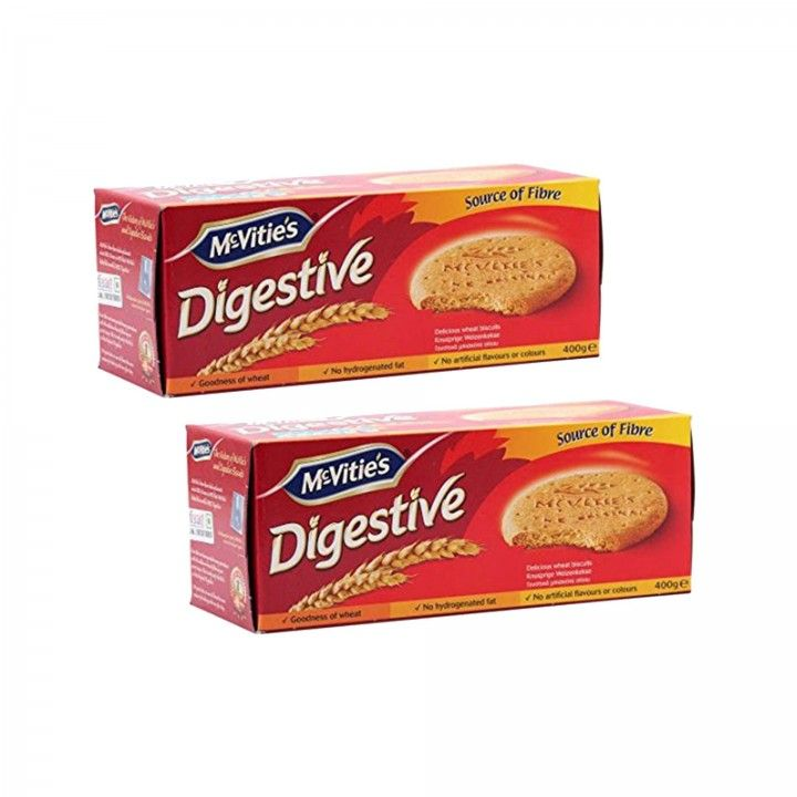 McVities Digestive Original 400 gr - Pack 2 x 400 gr