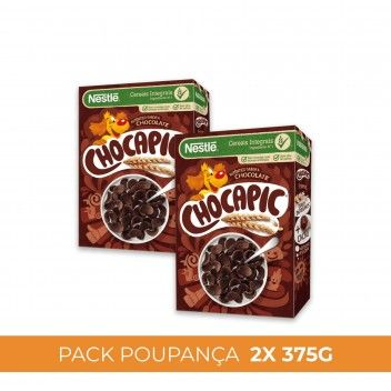 Cereais Nestlé Chocapic 375 gr - Pack 2 x 375 gr