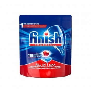 Finish Powerball All-in-One 110 Pastilhas