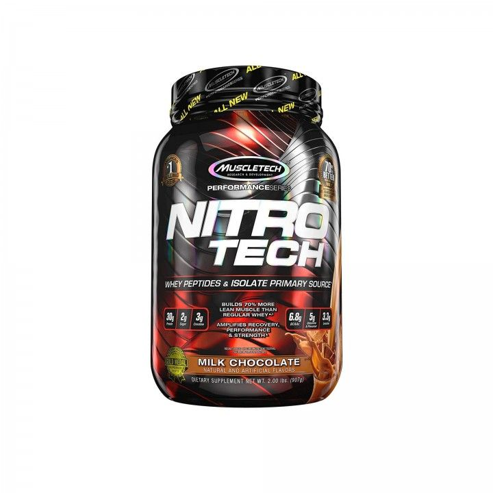 Muscletech Performance Series Nitro-Tech Leite Chocolate 907 gr