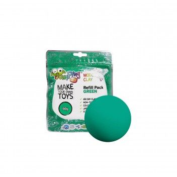 Jumping Clay Plasticina Verde 50 gr