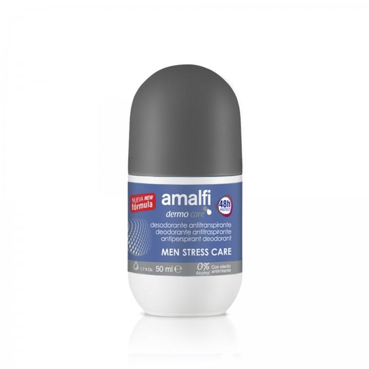 Amalfi Deo Roll-on For Men 50 ml - Pack 4 x 50 ml